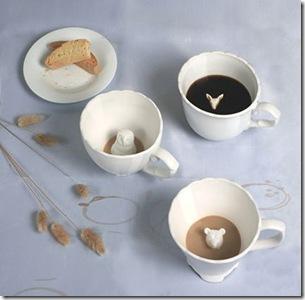 Hidden Animal Teacups